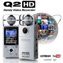 [ZOOM Q2HD] 전문핸디레코더 동영상1920X1080 HD급 뮤직비디오 공연장악기연주 그룹사운드 뮤지컬 오디션 멀티레코딩