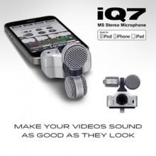 ZOOM iQ7 MS 스테레오 마이크 (아이폰 5 용)